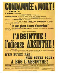 Absinthe Prohibition, The Terror of the 20th Century