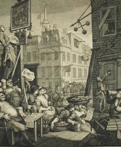 William Hogarth, Beer Street, 1751.