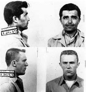 """The """"In Cold Blood"""" Killers: Perry Edward Smith, and Richard """"Dick"""" Eugene Hickock."""