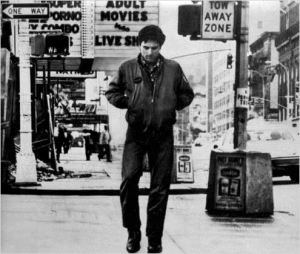 Robert De Niro, as Travis Bickle